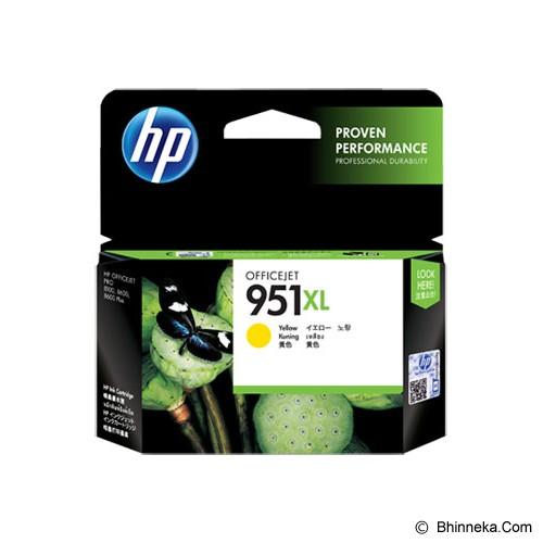 HP Yellow Ink Cartridge 951XL [CN048AA] - Tinta Printer Hp